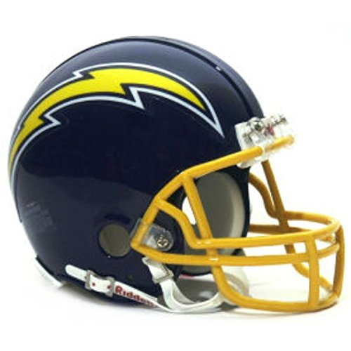 San Diego Chargers 1974-1987 Throwback Riddell Mini Football Helmet - New in Riddell Box