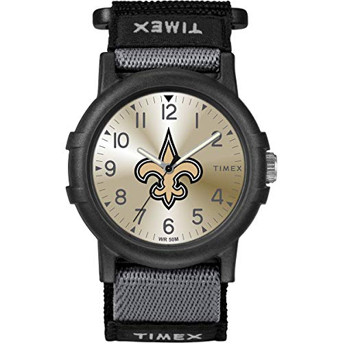 Timex Youth TWZFSAIYA NFL Recruit New Orleans Saints Watch