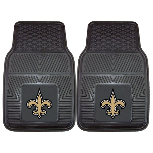 FANMATS NFL New Orleans Saints Vinyl Heavy Duty Car Mat